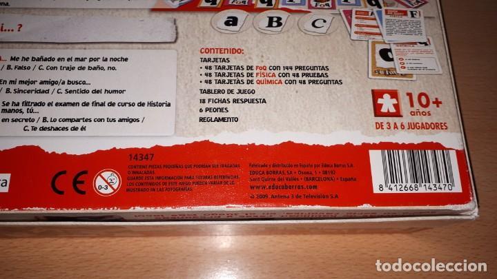 Juegos de mesa: FISICA Y QUIMICA- BORRAS 2009 - Foto 6 - 194237163