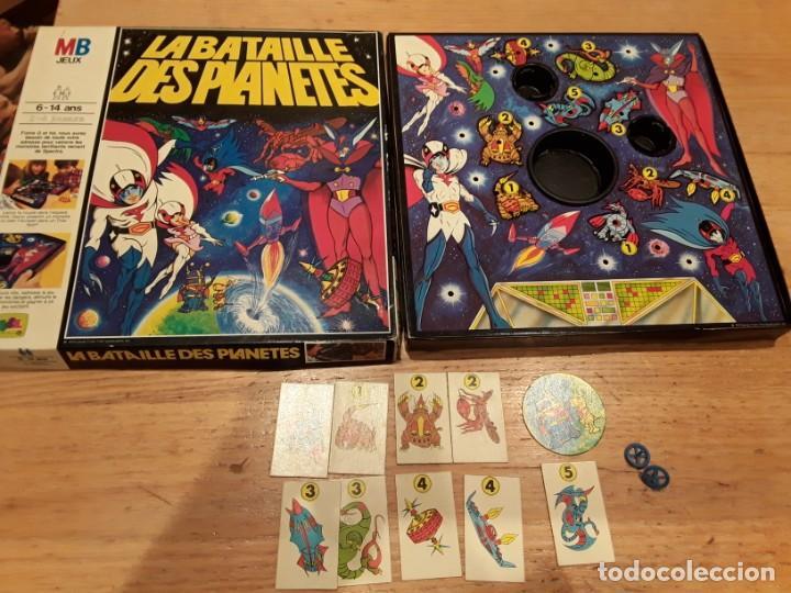 LA BATALLA DE LOS PLANETAS MB COMPLETO, AÑO 79, (Juguetes - Juegos - Juegos de Mesa)