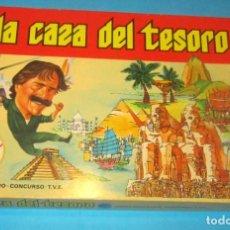 Juegos de mesa: A LA CAZA DEL TESORO, NUEVO SIN JUGAR CON SU CAJA, DALMANU CARLES PLA, REF 634 . Lote 194258227