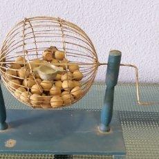 Juegos de mesa: BINGO ANTIGUO MADERA. Lote 194271802
