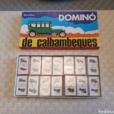 Juegos de mesa: DOMINO MAJORA DE CALHAMBEQUES DIFÍCIL. Lote 194271942