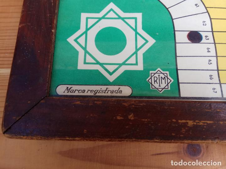 Juegos de mesa: ANTIGUO PARCHIS DE BOTON MARCA REGISTRADA RIM FUNCIONANDO - Foto 2 - 194294353