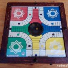 Juegos de mesa: ANTIGUO PARCHIS DE BOTON MARCA REGISTRADA RIM FUNCIONANDO. Lote 194294353