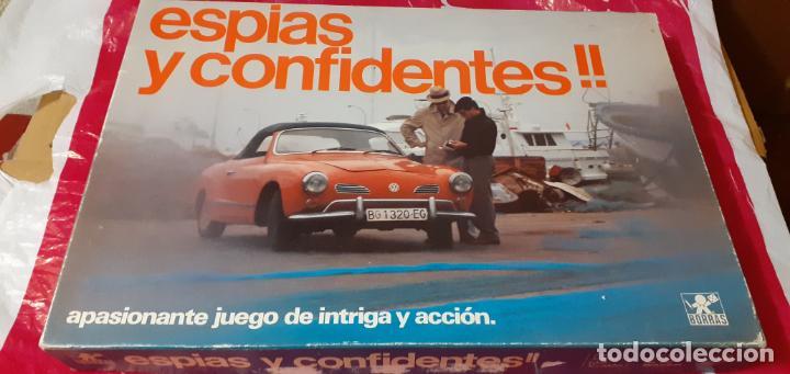 ESPIAS Y CONFIDENTES, BORRAS (Juguetes - Juegos - Juegos de Mesa)