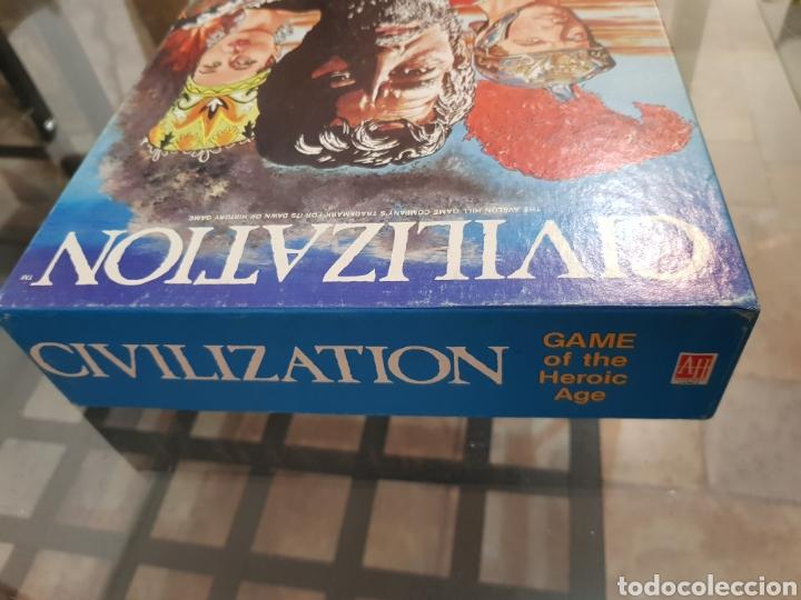 Juegos de mesa: CIVILIZATION Avalon Hill 1982 completo en muy buen estado - Foto 7 - 194322793