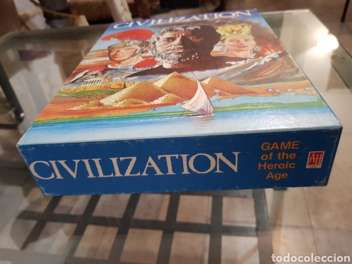 Juegos de mesa: CIVILIZATION Avalon Hill 1982 completo en muy buen estado - Foto 9 - 194322793