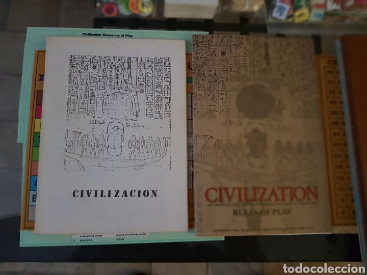Juegos de mesa: CIVILIZATION Avalon Hill 1982 completo en muy buen estado - Foto 11 - 194322793