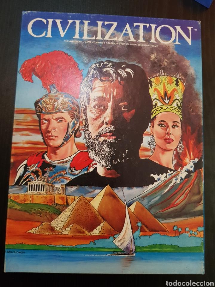 CIVILIZATION AVALON HILL 1982 COMPLETO EN MUY BUEN ESTADO (Juguetes - Juegos - Juegos de Mesa)