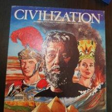 Juegos de mesa: CIVILIZATION AVALON HILL 1982 COMPLETO EN MUY BUEN ESTADO. Lote 194322793