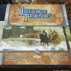 Juegos de mesa: JUEGO DE TRONOS: EL JUEGO DE CARTAS (GEORGE R. R. MARTIN) 1ª EDICIÓN - NUEVO. Lote 194323690