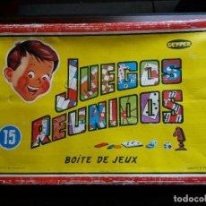 Juegos de mesa: JUEGOS REUNIDOS GEYPER 15. Lote 194332150