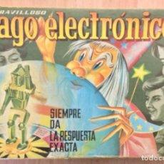 Juegos de mesa: CAJA VACÍA EL MARAVILLOSO MAGO ELECTRONICO.. Lote 194334766