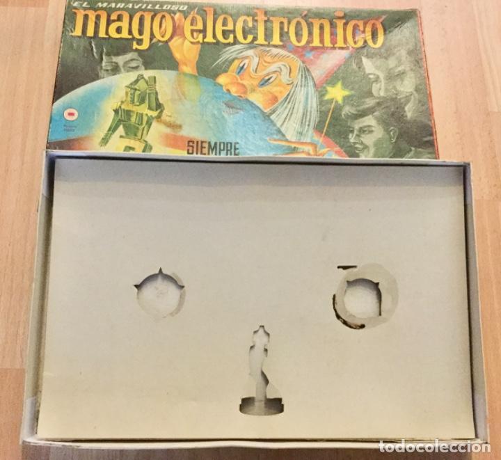 Juegos de mesa: Caja vacía El maravilloso mago electronico. - Foto 2 - 194334766