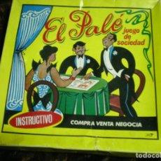 Juegos de mesa: ANGIUO JUEGO DE MESA EL PALÉ. Lote 194353551