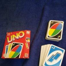 Juegos de mesa: JUEGO DE CARTAS UNO DE MATTEL. DE LOS 90. Lote 194361193