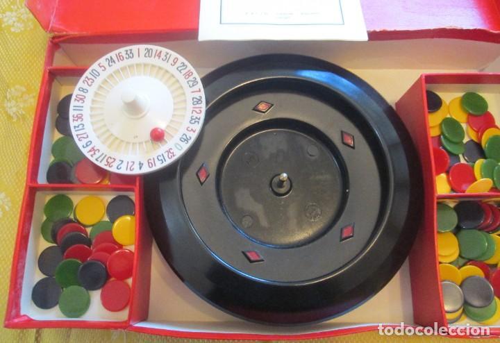 Juegos de mesa: Juego de ruleta. Fabricación inglesa, marca K&C. La ruleta es de pasta dura y mide 20,5cm - Foto 3 - 194400017