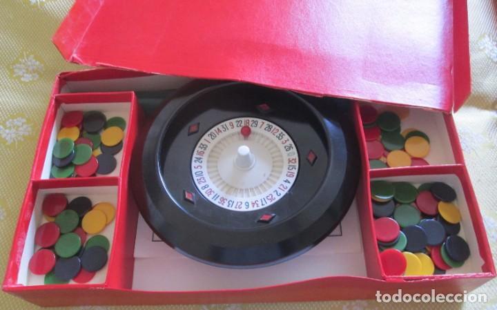 Juegos de mesa: Juego de ruleta. Fabricación inglesa, marca K&C. La ruleta es de pasta dura y mide 20,5cm - Foto 5 - 194400017