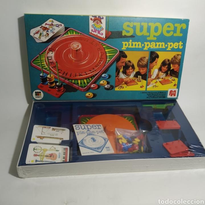 Juegos de mesa: SUPER PIM PAM PET juego de DISET, S.A. - JUMBO año 1979 - Precintado - Foto 2 - 194485142