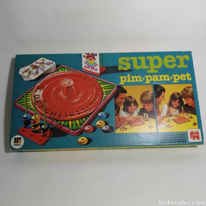 SUPER PIM PAM PET JUEGO DE DISET, S.A. - JUMBO AÑO 1979 - PRECINTADO (Juguetes - Juegos - Juegos de Mesa)