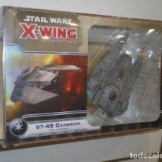 Juegos de mesa: VT-49 DIEZMADOR PACK DE EXPANSION STAR WARS X-WING - FANTASY FLIGHT GAMES OFERTA (ANTES 39,95 €). Lote 194507245
