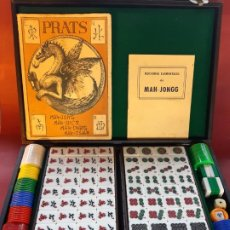 Juegos de mesa: MAH-JONGG-AÑO 1953-PRATS-EN MALETIN-EXCELENTE ESTADO-VER FOTOS. Lote 194508470