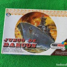Juegos de mesa: JUEGO DE MESA JUEGO DE BARCOS DE FEBERJUEGOS REFERENCIA 916. Lote 194524386