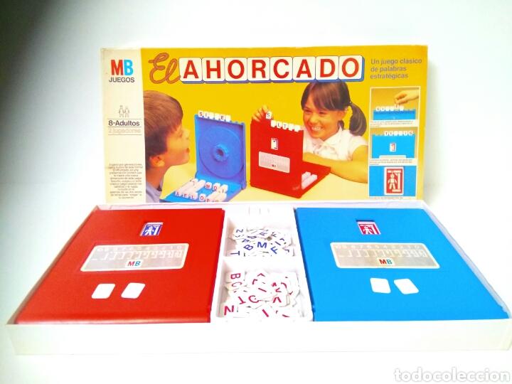 EL AHORCADO JUEGO COMPLETO MÍTICO DE MB PRIMERAS EDICIONES CCC (Juguetes - Juegos - Juegos de Mesa)