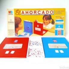 Juegos de mesa: EL AHORCADO JUEGO COMPLETO MÍTICO DE MB PRIMERAS EDICIONES. Lote 194525117