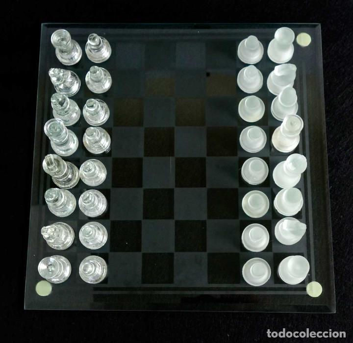 Juegos de mesa: AJEDREZ DE CRISTAL CON CAJA - Foto 3 - 194526726