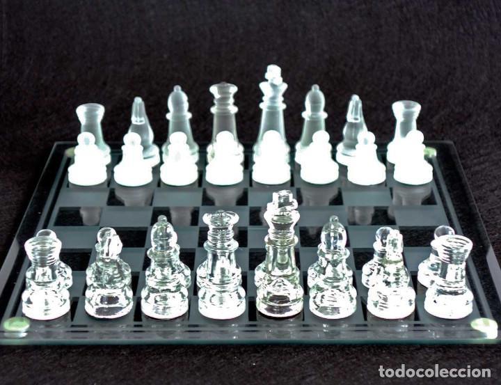 Juegos de mesa: AJEDREZ DE CRISTAL CON CAJA - Foto 4 - 194526726