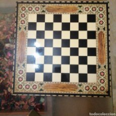 Juegos de mesa: AJEDREZ VINTAGE TABLERO MADERA. Lote 194530133