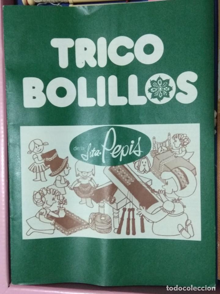 Juegos de mesa: TRICO BOLILLOS DE LA SRTA. PEPIS. Juguete años 70. - Foto 6 - 194532615