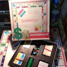 Juegos de mesa: SUPERPOLY DE FALOMIR, REF 2000. ANTIGUO JEGO DE MESA. Lote 194533961