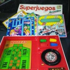 Juegos de mesa: SUPERJUEGOS REUNIDOS DE CHICOS, . Lote 194534285