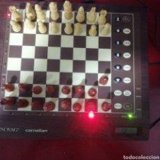 Juegos de mesa: AJEDREZ ELECTRÓNICO NOVAG MODELO CARNELIAN.. Lote 194534516