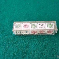 Juegos de mesa: DADOS DE POKER. Lote 194539443
