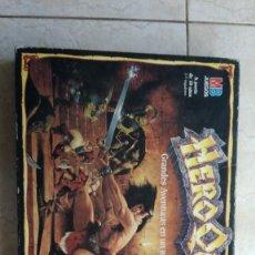 Juegos de mesa: HEROQUEST HERO QUEST CAJA JUEGO ROL DE MB. Lote 194549590