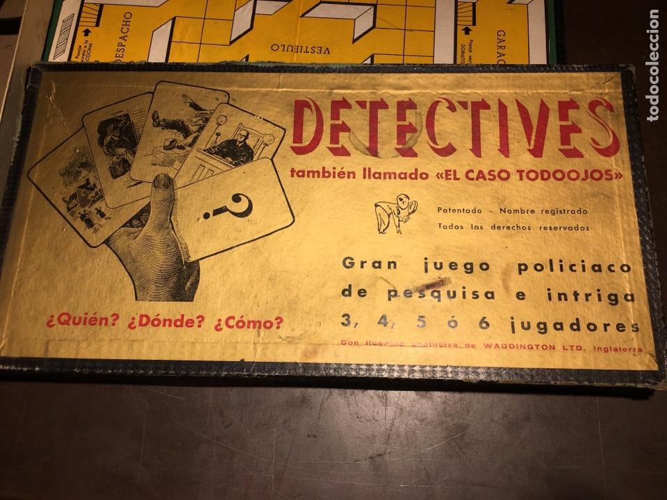 """Juegos de mesa: Detectives juego """"el caso todo ojos """" - Foto 2 - 194566735"""