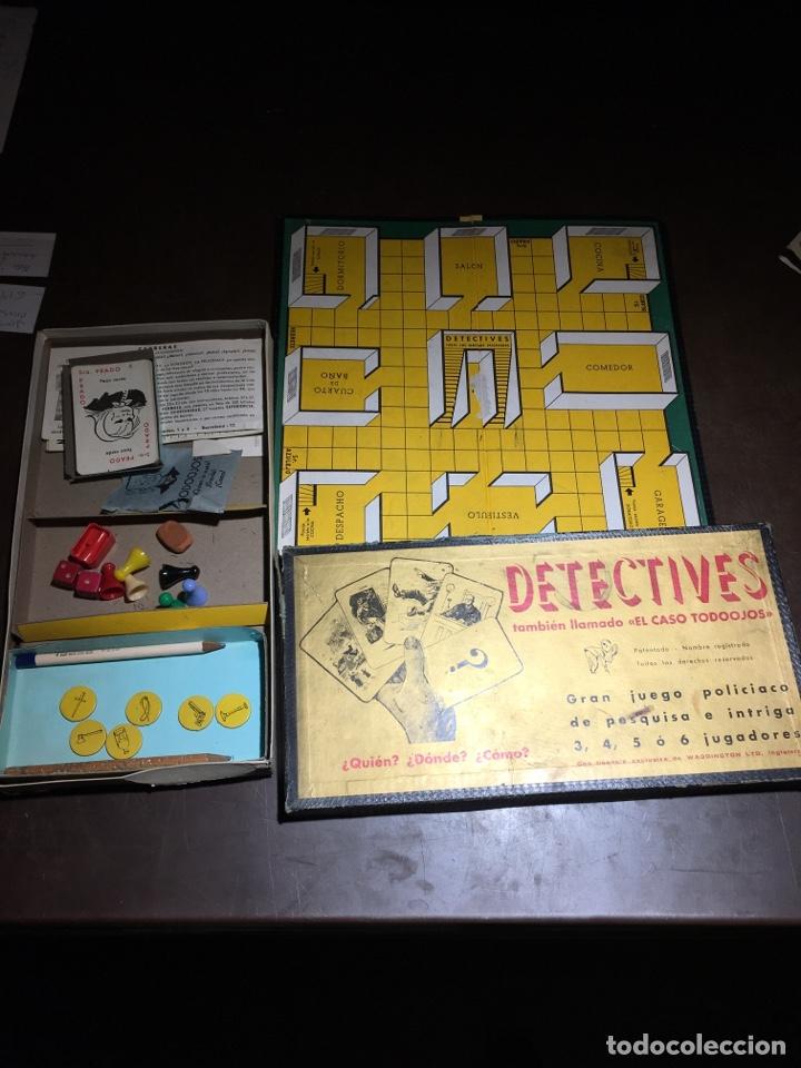 """DETECTIVES JUEGO """"EL CASO TODO OJOS """" (Juguetes - Juegos - Juegos de Mesa)"""