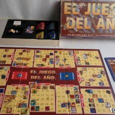 Juegos de mesa: EL JUEGO DEL AÑO BORRAS. NO ESTA COMPLETO.. Lote 194566895