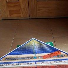 Juegos de mesa: LOTE DE 5 JUEGOSS DE MESA EROTICOS. Lote 194586360