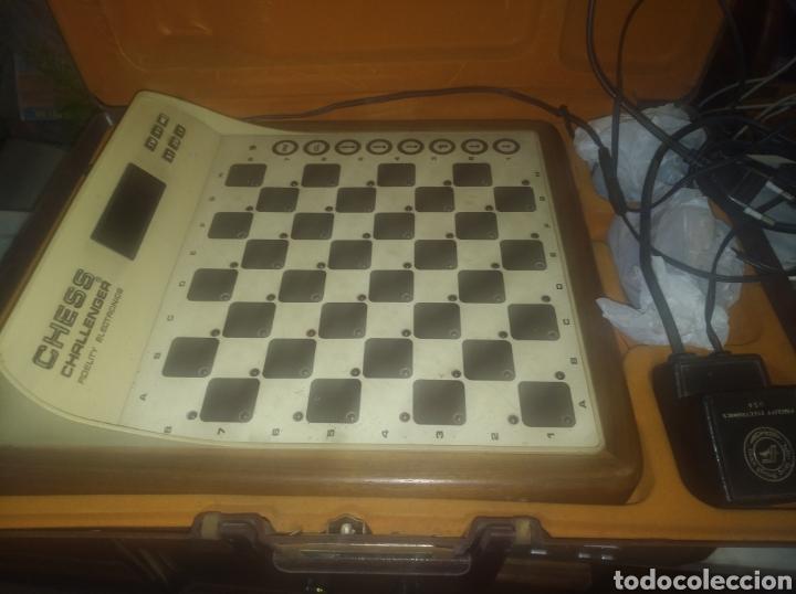 AJEDREZ ELECTRONICO CHESS CHALLENGER, AÑOS 80. FUNCIONA BIEN. (Juguetes - Juegos - Juegos de Mesa)