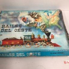 Juegos de mesa: RAILES DEL OESTE DE BORRAS. Lote 194637097