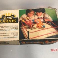 Juegos de mesa: JUEGO GEYPER KÁRATE. Lote 194639191