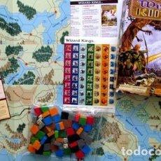 Juegos de mesa: WIZARD KINGS 1º Y 2º EDICION, + EXTRAS. Lote 194677417