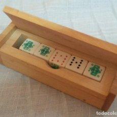 Juegos de mesa: DADOS DE PÓKER. COMPLETOS. EN BUEN ESTADO. Lote 194705210