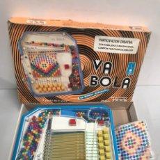 Juegos de mesa: VA BOLA - JUEGO FABRICADO POR SCALA. Lote 194725463