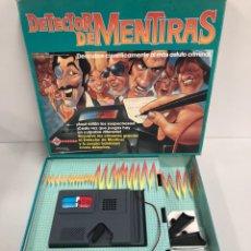 Juegos de mesa: JUEGO DE MESA DETECTOR DE MENTIRAS DE MATTEL DE 1989. Lote 194725852