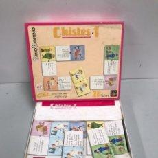 Juegos de mesa: DINODOMINÓ - CHISTES 1. Lote 194726560
