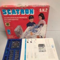 Juegos de mesa: SCATRON S.N.2 - SCALA - JUEGO DE ELECTRONICA. Lote 194737443